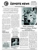 Coyote News Fact Sheet Vol I