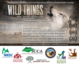 Wild Things screening Sonoma PR flyer 9.25.13 copy
